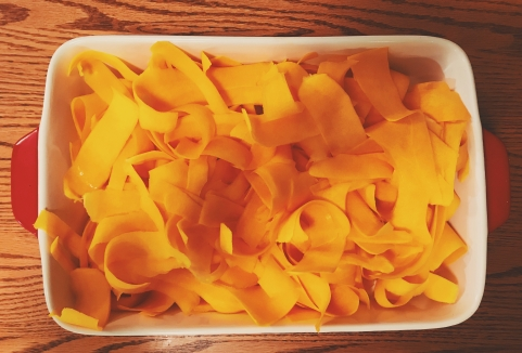 butternut squash pappardelle